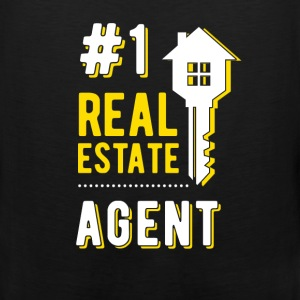 #1 real estate agent - Men's Premium Tank