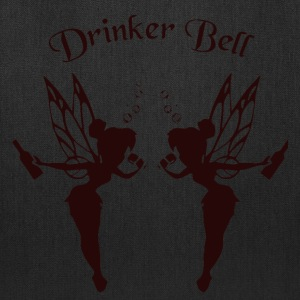 Drinkerbell black - Tote Bag