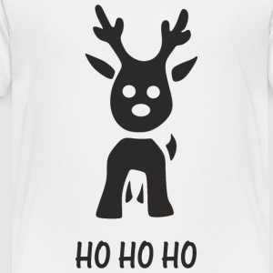 LITTLE REINDEER HOHOHO Kids' Shirts - Toddler Premium T-Shirt