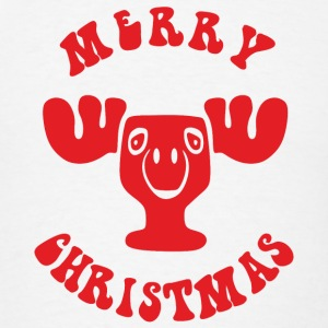 MERRY CHRISTMAS REINDEER Sportswear - Men's T-Shirt