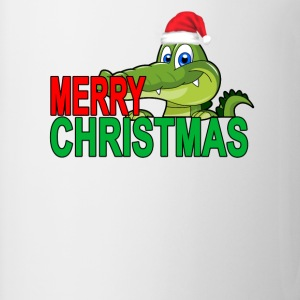 alligator_christmas_tshirt_ - Coffee/Tea Mug