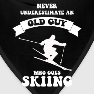 Never underestimate an old guy who loves skiing - Bandana