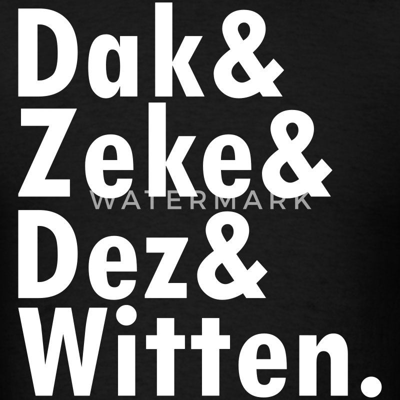 Dak & Zeke and Dez & Witten T-Shirts - Men's T-Shirt