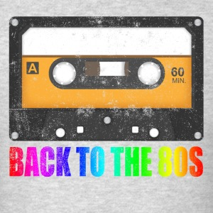 CASSETTE BACK TO THE 80'S NEVER FORGET Sportswear - Men's T-Shirt