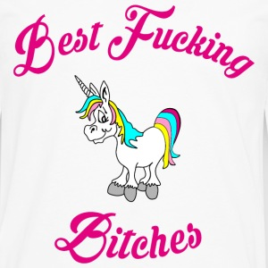 BEST FUCKING BITCHES I T-Shirts - Men's Premium Long Sleeve T-Shirt