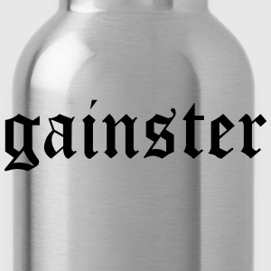 Gainster | Funny Workout Motivation T-Shirts - Water Bottle