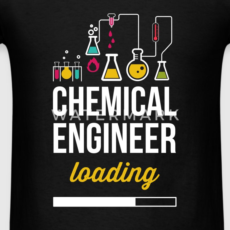 Chemical Engineer loading - Men's T-Shirt