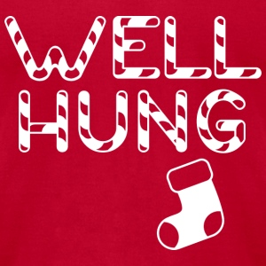 Well Hung - Men's T-Shirt by American Apparel