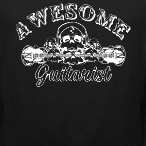 Awesome Guitarist Shirt - Men's Premium Tank