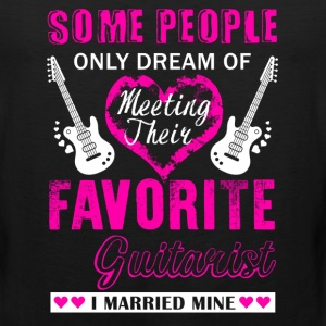 Guitarist Wife Shirt - Men's Premium Tank