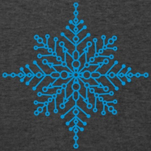 Snow crystal Bags & backpacks - Men's V-Neck T-Shirt by Canvas