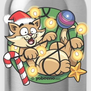 Christmas Cat - Water Bottle