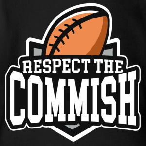 Respect The Commish - Short Sleeve Baby Bodysuit