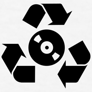 Recycle vinyl Sportswear - Men's T-Shirt