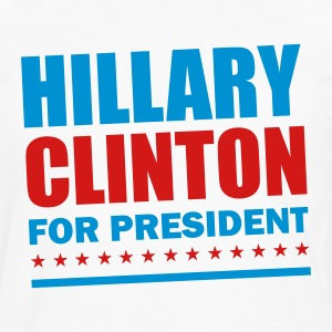 Hillary Clinton For President 2016 T-Shirts - Men's Premium Long Sleeve T-Shirt