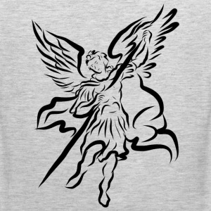 Archangel Michael Drawing by Adam Tinkoff T-Shirts - Men's Premium Tank