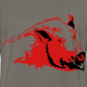 Wild pig T-Shirts - Men's Premium Long Sleeve T-Shirt