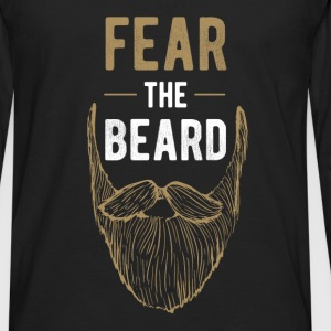 Fear the beard - Men's Premium Long Sleeve T-Shirt