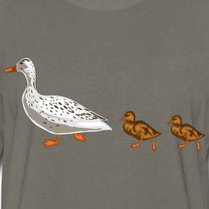 duck T-Shirts - Men's Premium Long Sleeve T-Shirt