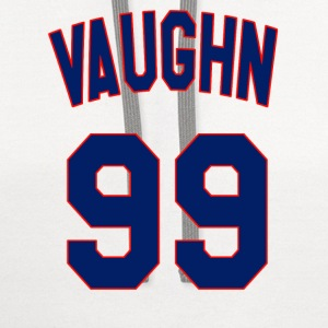 Major League - Vaughn 99 T-Shirts - Contrast Hoodie