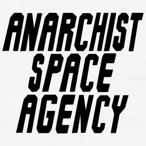 Anarchist Space Agency iPhone 7 Case - Men's T-Shirt