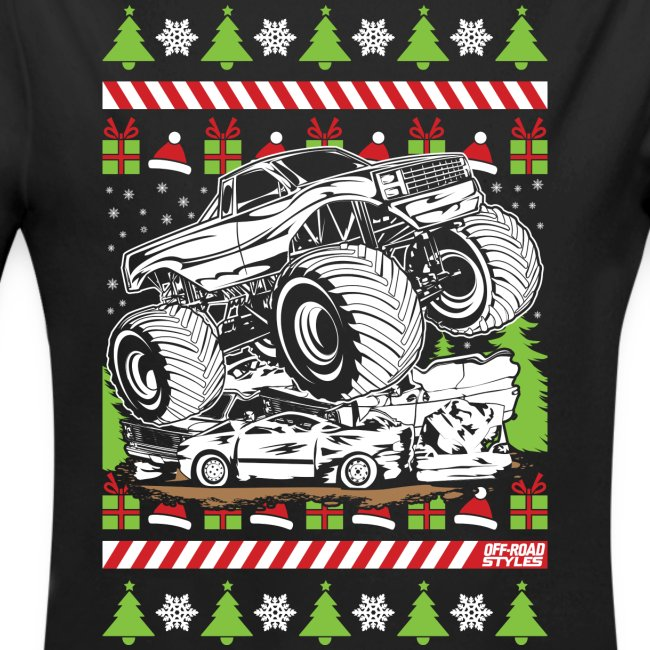 Ugly Christmas Monster Truck