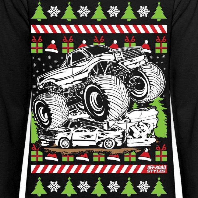 Ugly Christmas Monster Truck