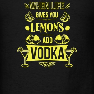 Life Lemons Vodka - Men's T-Shirt