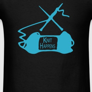 Knit happens - Men's T-Shirt