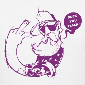 Duck you Peach T-Shirts - Women's T-Shirt