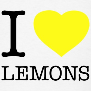 I LOVE LEMONS - Men's T-Shirt