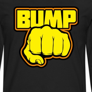 Fist Bump. T-Shirts - Men's Premium Long Sleeve T-Shirt