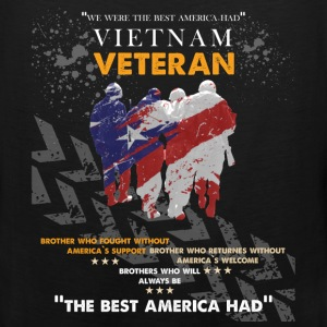 Vietnam veteran- Brother who fought without Americ - Men's Premium Tank
