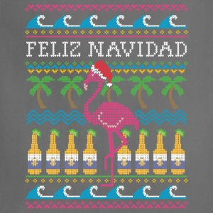 Feliz Navidad Ugly Christmas Sweater Tanks - Adjustable Apron