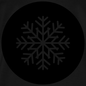 Snowflake Patch Bags & backpacks - Men's Premium T-Shirt