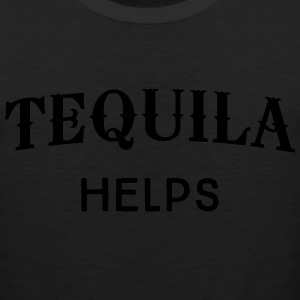 Tequila Helps T-Shirts - Men's Premium Tank