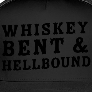 Whiskey bent and hellbound T-Shirts - Trucker Cap