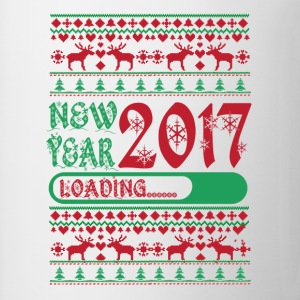 NEW YEAR 2017 IS LOADING T-Shirts - Coffee/Tea Mug