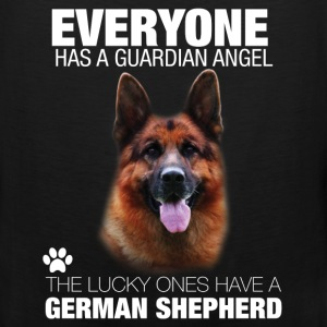 Everyone has a guardian angel the lucky ones have  - Men's Premium Tank