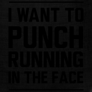 I want to punch running in the face T-Shirts - Bandana