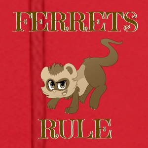 Ferrets Rule Mugs & Drinkware - Men's Hoodie