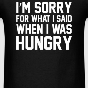 Hungry Apology Tank - Men's T-Shirt