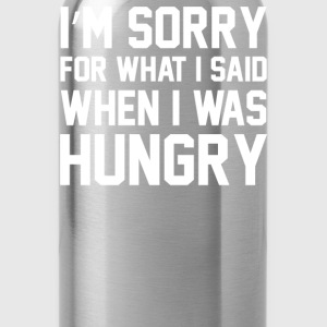 Hungry Apology Tank - Water Bottle