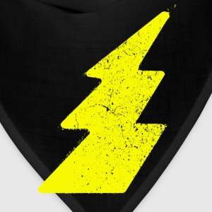 Grunge lightning flash - Bandana