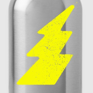 Grunge lightning flash - Water Bottle