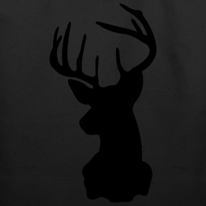 Deer, Moose, Antlers, Hipsters T-Shirts - Eco-Friendly Cotton Tote