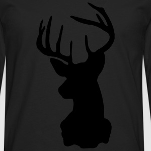 Deer, Moose, Antlers, Hipsters T-Shirts - Men's Premium Long Sleeve T-Shirt