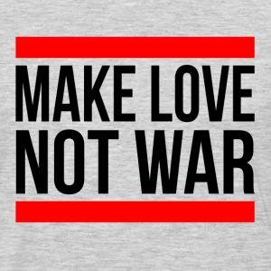 MAKE LOVE NOT WAR Sportswear - Men's Premium Long Sleeve T-Shirt