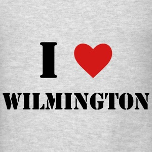 I Love Wilmington Hoodies - Men's T-Shirt