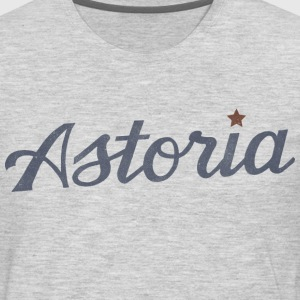 Astoria, Queens, New York City T-Shirt - Men's Premium Long Sleeve T-Shirt